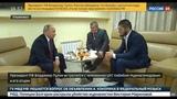 Владимир Путин и Хабиб Нурмагомедов встретились в Ульяновске
