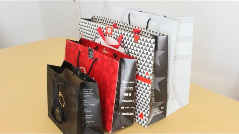 Cómo reciclar bolsas de cartón Reciclado DIY Manualidades fáciles