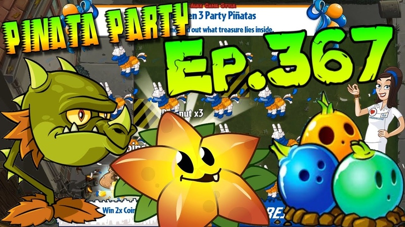 Plants vs. Zombies 2 - Pinata Party Progressive Part 2 - Protect plants (Ep.367)