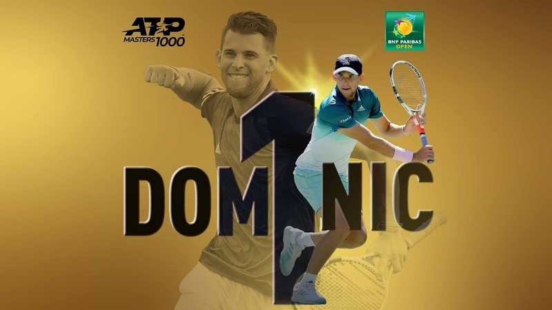 Dominic Thiem | Fantastic - Indian Wells Champion ᴴᴰ