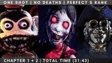 ONE SHOT NO DEATHS PERFECT S RANK RUN CHAPTER 1+2 DARK DECEPTION