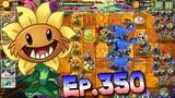 Plants vs. Zombies 2 Got a new Plant Primal Sunflower - Jurassic Marsh Day 17 (Ep.350)