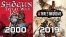 Evolution of Total War Games 2000 2019