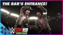 WWE 2K19: THE BAR set the standard for arena entrances!