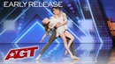 Kid Dancers Izzy and Easton Dazzle With Contemporary Dance - Americas Got Talent 2019