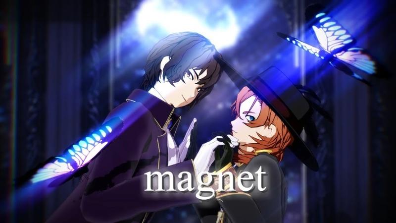 【MMD文スト】magnet/双黒