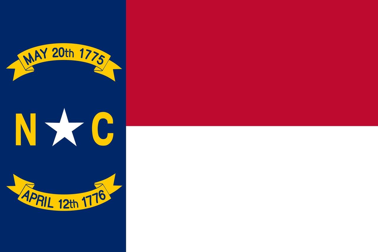 Флаг Северная Каролина