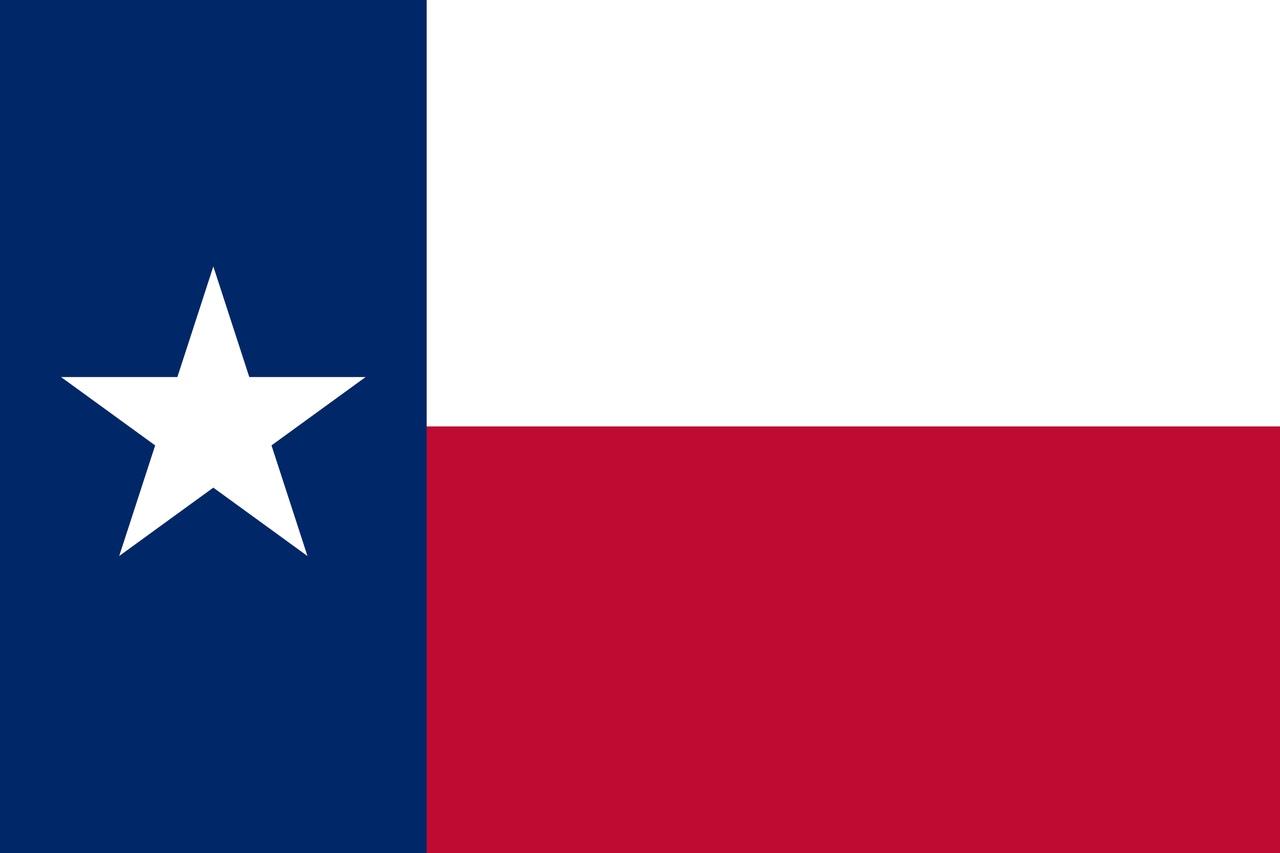 Флаг Техас