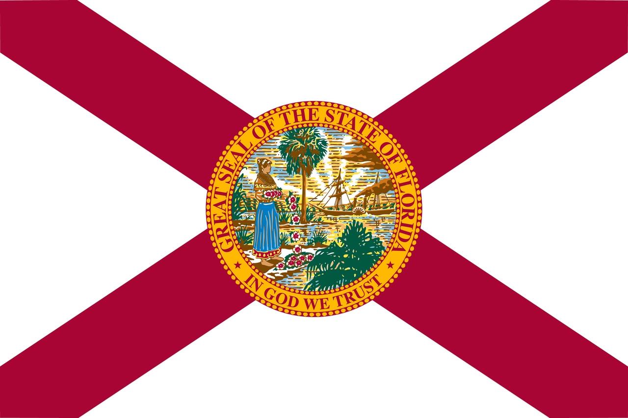 Флаг Флорида