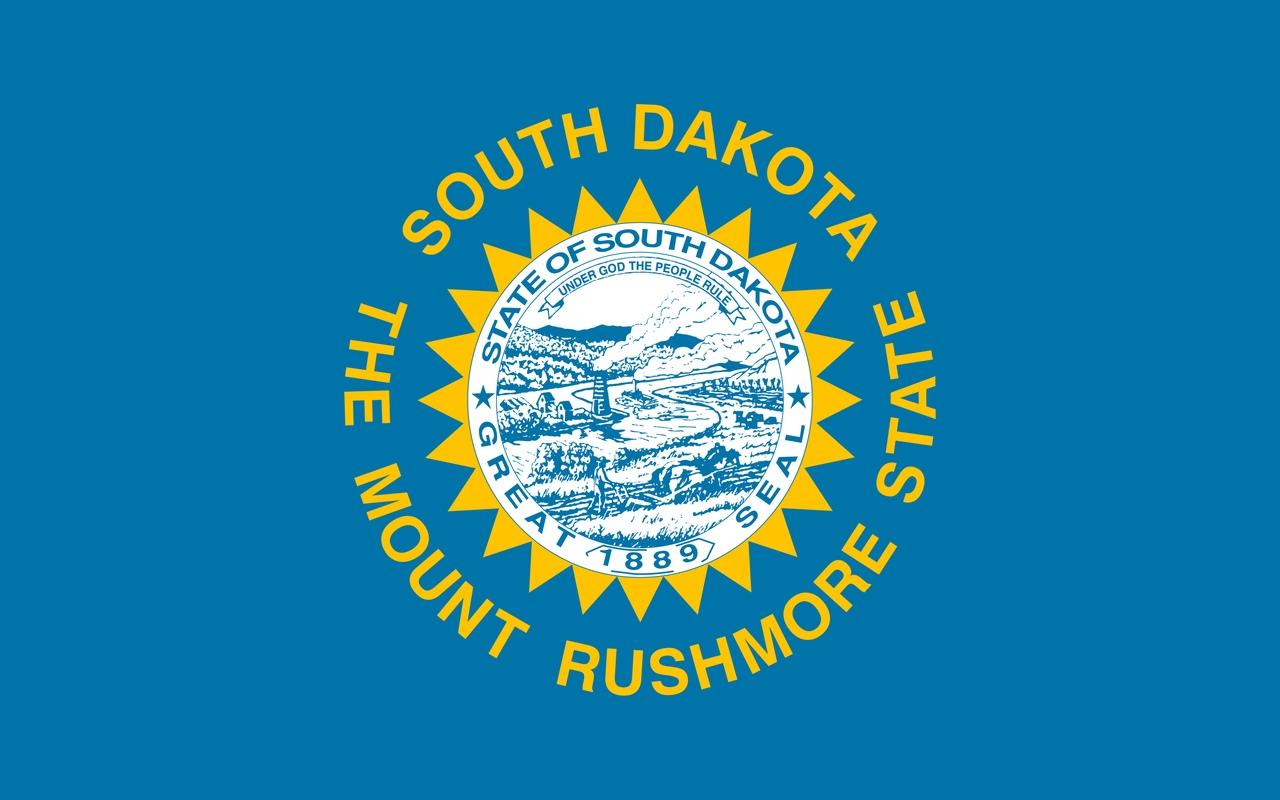 Флаг Южная Дакота