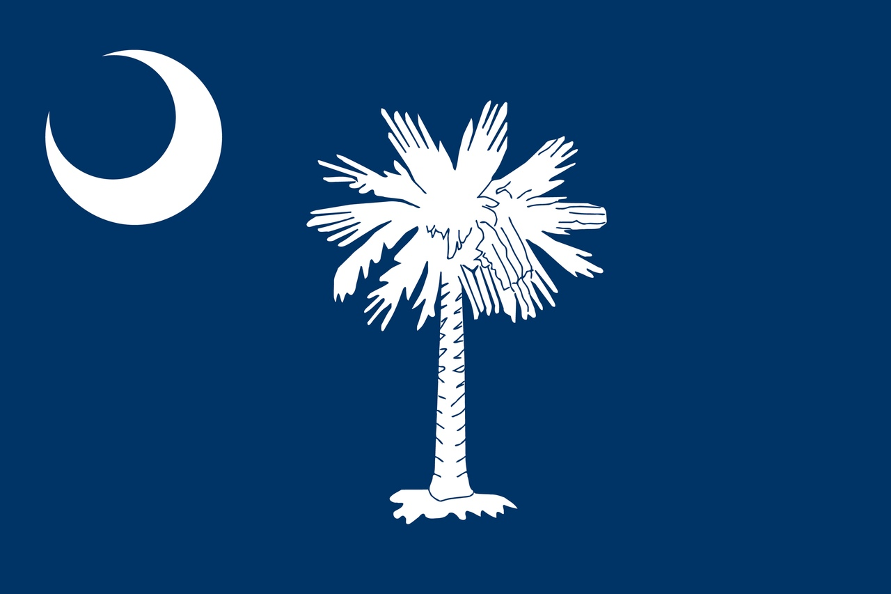Флаг Южная Каролина