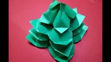 How to Make 3D Paper Christmas Tree 🎄 | Very Easy Origami 3D Paper Craft Christmas Tree Tutorial