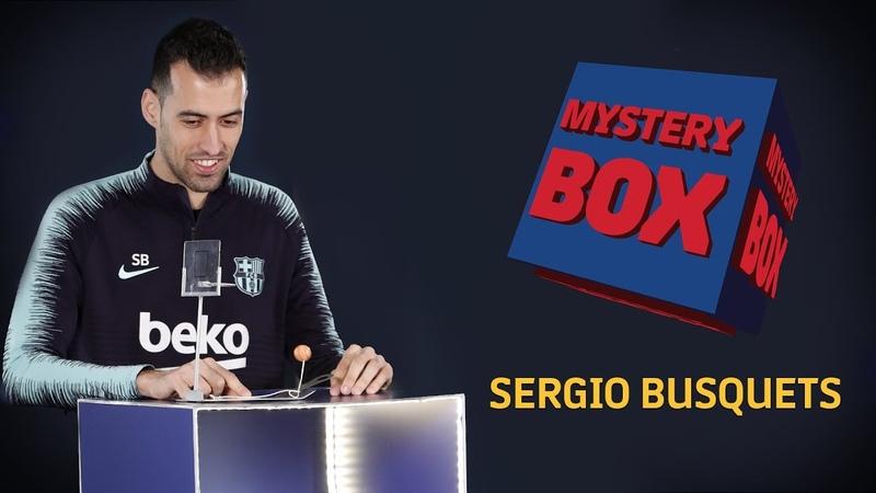 MYSTERY BOX | Sergio Busquets