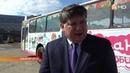 «Светланкин» автобус выходит на маршрут