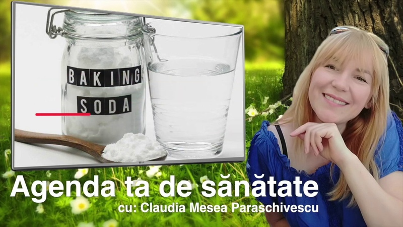 Apa cu bicarbonat de sodiu timp de o luna - Corpul va fi de nerecunoscut (Agenda Ta de Sanatate)