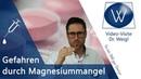 Magnesium Magnesiummangel Bei diesen 6 Krankheiten hilft Magnesium! Folgen Symptome von Mangel