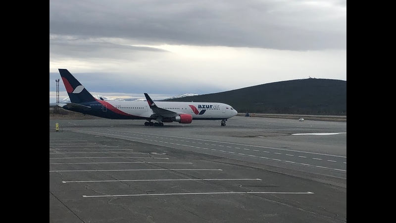 Azur airНячангBoeing 767-300ERМагадан