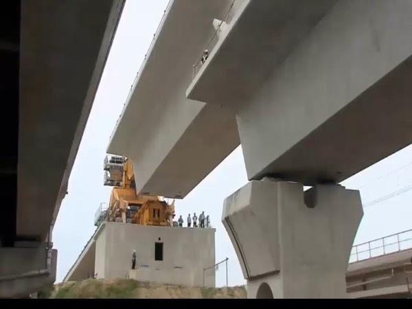 Extreme Heavy Building Bridge Machines