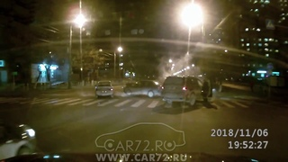 ДТП на перекрестке Ямская-Льва Толстого - 06.11.18