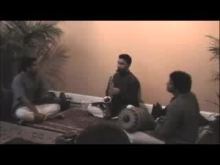 Carnatic (South Indian classical) saxophone - Pantuvarali Ragam