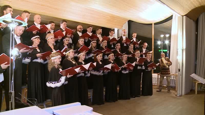 Камчатская хоровая капелла дала концерт в Выборге