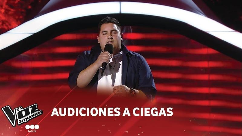 Pablo Díaz - Nada es para siempre - Luis Fonsi - Audiciones a ciegas - La Voz Argentina 2018