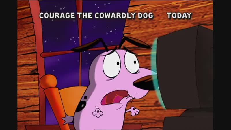Кураж трусливый пёс DVD Трейлер