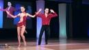 Andrea Bosonotto and Silvia Accossato - on1 semis - World Latin Dance Cup 2011
