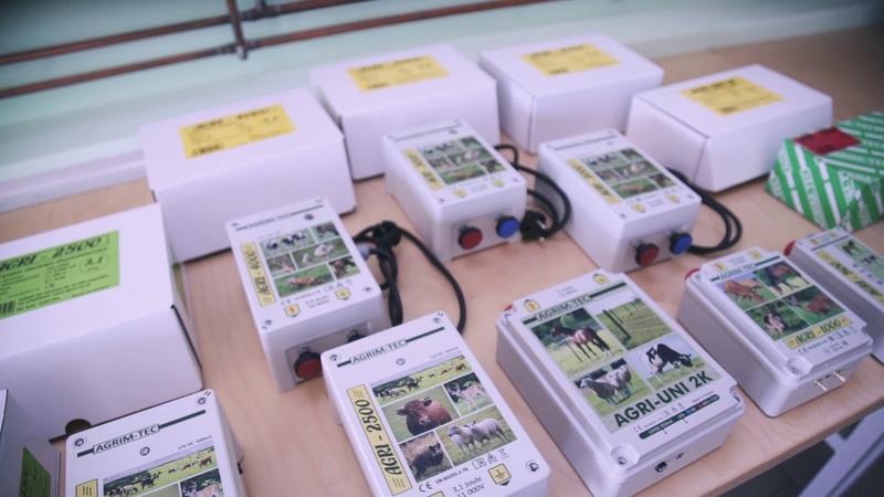 Производство электропастухов AGRI Как сделать Электропастух