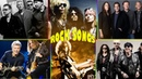 U2, Scorpions, Guns N' Roses, Bon Jovi, Led Zeppelin.