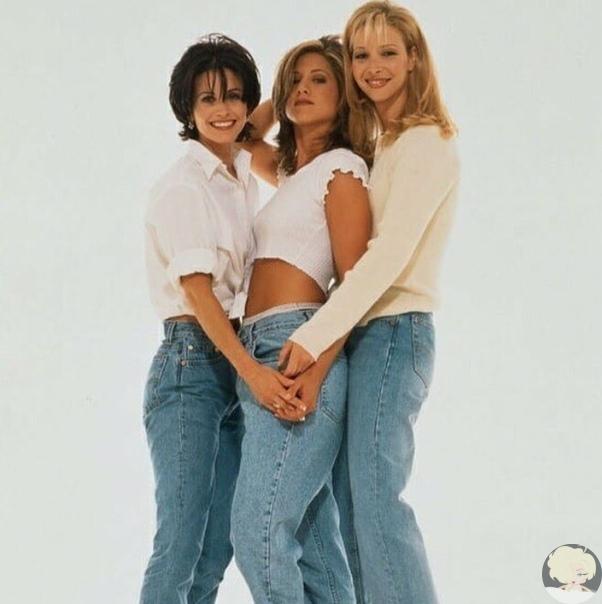 Jennifer Aniston, Courtney Cox and Lisa Kudrow.
