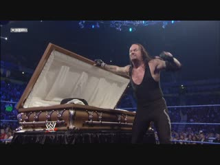 The Undertaker picked up Vickie Guerrero and slammed her into the casket! 11/21/2008