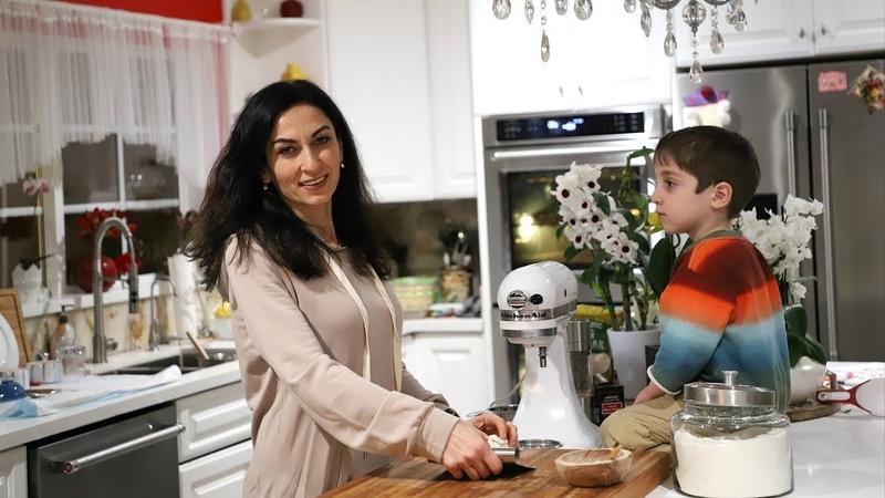 Ձնագնդիկ Թխվածքաբլիթներ - Snowball Cookies - Հեղինե - Heghineh Cooking Show in Armenian