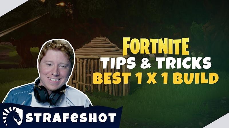 TL Fortnite | Strafesh0t Tips Tricks Постройки 1х1