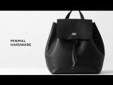Junie Medium Pebbled Leather Backpack Michael Kors