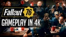 Fallout 76 15 minuti di gameplay in 4K