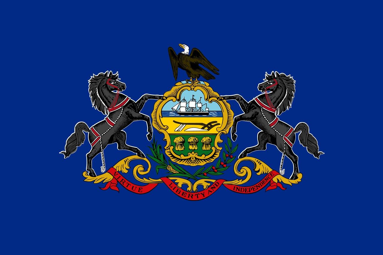 Флаг Пенсильвания