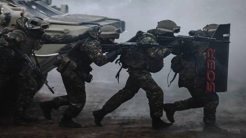 СОБР Отряд Быстрого Реагирования SOBR special Rapid Response Unit