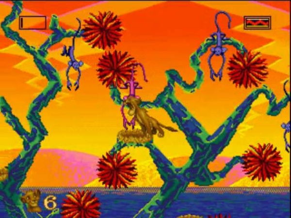 [Sega Genesis] - The Lion King - Level 2 - Can't Wait To Be King