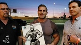 Jay Cutler talks about the upcoming Jay Cutler Desert Classic competition in Las Vegas, Nevada.