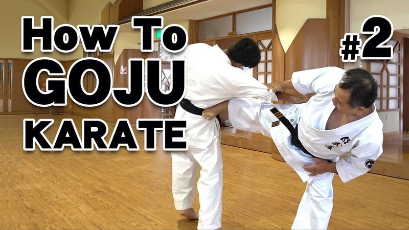 How to GOJU-RYU KARATE 2   Karate Lessons   Master Masaaki Ikemiyagi 9th dan 沖縄伝統空手 