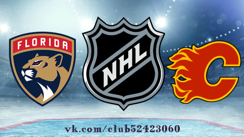 Florida Panthers vs Calgary Flames 11 01 2019 NHL Regular Season 2018 2019