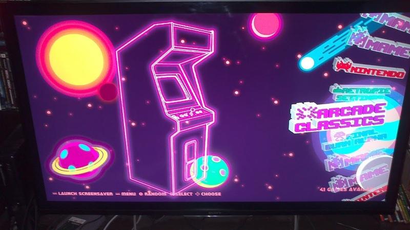 Видео-заставки Темы Скрины для Аркадной консоли RetroPie