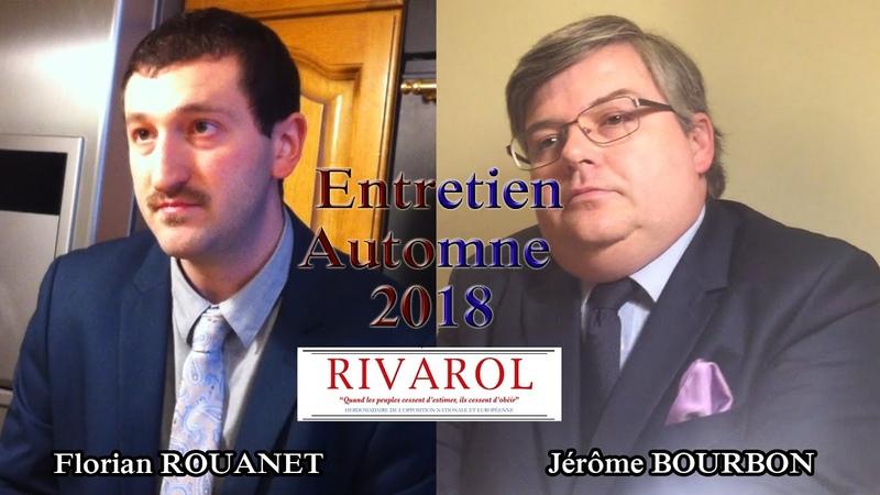 Entretien dautomne 2018 «Le combat de Faurisson» avec Jérôme Bourbon