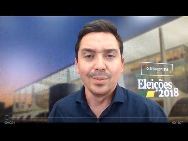 BOLSONARO NO PRIMEIRO TURNO O Antagonista nas Eleições