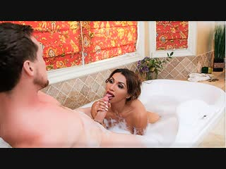 [TransAngels] Jessy Dubai & Pierce Paris - Bubbles and Booty [2018, Shemale, Hardcore, Ass Licking, Cum On Mouth, 1080p]