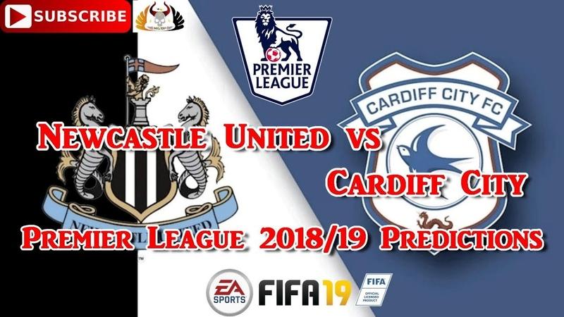 Newcastle United vs Cardiff City | Premier League 2018-19 | Predictions FIFA 19