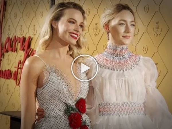 Saoirse Ronan and Margot Robbie slay at 'Mary Queen of Scots' UK premiere