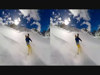 GoPro. Let Me Take You To The Mountain 3D VR SBS