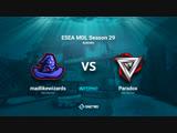 ESEA MDL Season 29 Australia   madlikewizards vs Paradox   BO1   by Afor1zm